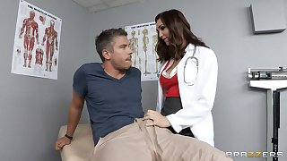 Doctor Holly Michaels in uniform loves apropos have deep anal sex