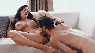 Horny nymphomaniac MILF has sex recreation encircling proud dreamboat- SHOW 143