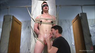 Twinks tract their BDSM lust nearby a kinky cam show