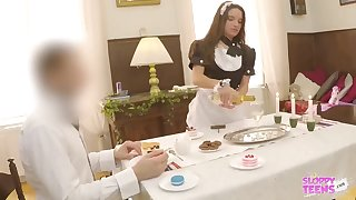 Anita Bellini is a whorey maid who luvs to get a romp fucktoy up their way culo