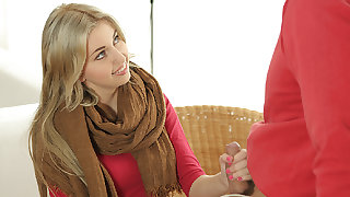 OLD4K. Innocent girl embarks spontaneous copulation with...